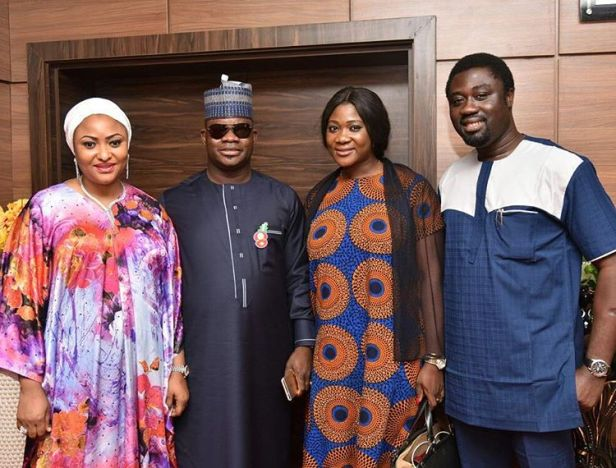 Image result for actress mercy johnson made special assistant to kogi governor
